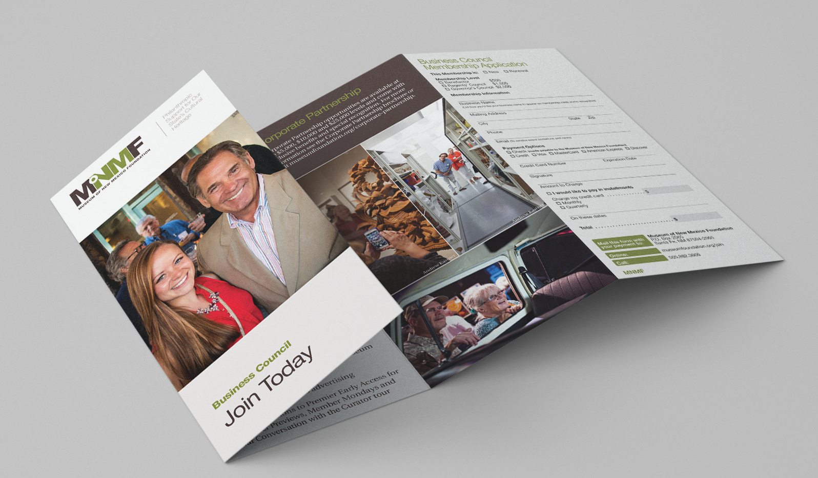 MNMF Business Council brochure